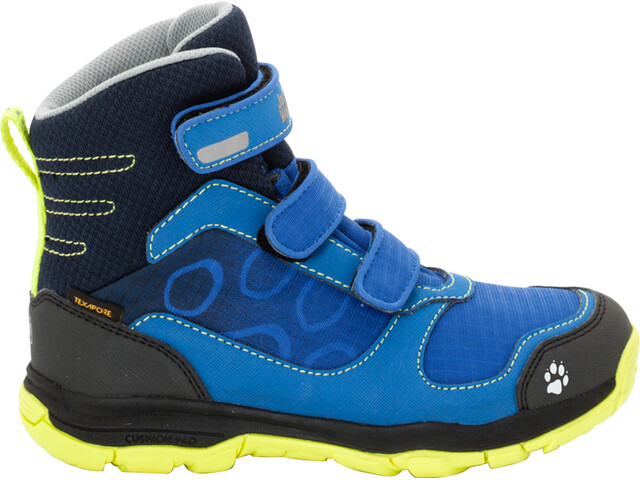 Jack Wolfskin Akka Texapore VC High Shoes Boys vibrant blue